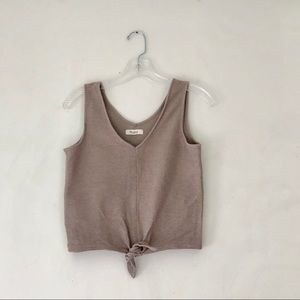 Knot front Madewell Tank